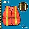 CE En13356 colete de segurança reflexivo, protetor de advertência de segurança para o esporte