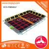 Trampolín grande para jugar el parque de interior del trampolín en Guangzhou