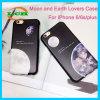 Weicher TPU kreativer der Massen-und Mond-Paar-für iPhone