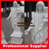Virgin Mary con Baby Marble Statue Marble Carving Marble Sculpture