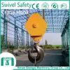 Безопасность 2016 шарнирного соединения тяжелой стали Shengqi поднимаясь выковала крюк крана