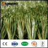 Alfombra sintetizada de la hierba del campo de fútbol plástico del PE de la alta calidad