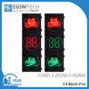 свет сигнала велосипеда 300mm СИД с красным 2 цифров комплекса предпусковых операций отметчиком времени зеленых и