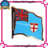 Metallo Flag Badge con Enamel Logo (m-FB01)