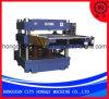 Côté simple alimentant la machine de découpage en caoutchouc appuyante hydraulique de produits