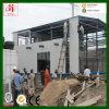 La INMERSIÓN caliente galvaniza el almacén ligero de la estructura de acero