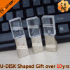 Металл/кристаллический привод вспышки USB для подарка компании (YT-3270)
