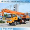 Mini grue mobile utilisée rentable de camion de camionnette de livraison classique de 4 tonnes petite