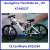 vélo électrique de saleté de batterie caché par suspension du moteur 350W