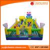 Schaf-und grauer Wolf-aufblasbares riesiges Spielzeug für Vergnügungspark (T6-039)