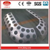 Projetando os painéis de alumínio contínuos perfurados Hyperbolic