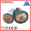 Câble de fil isolé par PVC flexible de cuivre énergie électrique/électrique pour l'élévateur