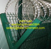 Galvanized/PVC überzogener Procection Sicherheitszaun