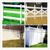 Cerco usado do PVC da manutenção cerca barata livre para a venda