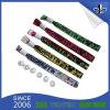 Bracelets tissés par tissu estampés par festival bon marché fait sur commande
