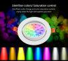 Nuevo color de la alta calidad 16million del diseño que cambia el proyector del techo de 9W RGB+CCT LED