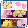 molde Shaped animal do biscoito do bolinho 2PCS