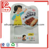 Sacchetto di plastica personalizzato dell'alimento del documento di figura