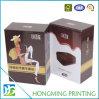 Empacotamento luxuoso impresso costume da caixa dos bolinhos