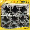 Profil en aluminium industriel de fente fantastique de 6063t5 40*40 T