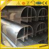 Limpiar el perfil de aluminio con diversos colores y tallas modificados para requisitos particulares