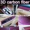 RoHS Certificate 1.52*30m Air Free Bubbles 3D Carbon Fiber Vinyl