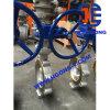 API/ANSI/DINのラグナットのウエファーのステンレス鋼の産業蝶弁
