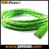6 pés 2m de comprimento Nylon Cabo USB para iPhone5