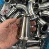 3A het Sanitaire Vastgeklemde Concentrische Reductiemiddel van het roestvrij staal