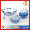 セットされる明確な円形のガラス・ボール/サラダガラス・ボールセット
