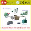 500kg/Hr Wood Sawdust Straw Charcoal Briquette Production Lline