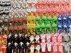 Nouvelle porte-bouteilles vide d'aseptisant de main d'Antibacterail 30ml/29ml