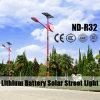 Indicatore luminoso di via solare di stile popolare da vendere con la vendita calda della batteria di litio di 12V 30ah~60ah IP65