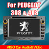 Peugeotのための車DVD GPS Nav 308 408 (VPE7011)