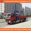 Saleのための4X2 Truck Crane 6t Truck Mounted Crane