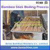 Palillo de bambú que hace la máquina, máquinas de bambú del palillo