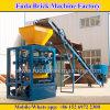 Machines de brique pleine, petite chaîne de production de bloc, machine stationnaire de bloc