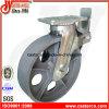 12 Inch-Hochleistungsroheisen-Baugerüst-Fußrolle