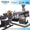 Boudineuse à vis en plastique matérielle de double d'extrusion de PVC de Tsh-65 Tenda