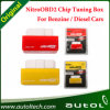 Microplaqueta do carro Nitroobd2 nitro OBD2 que ajusta amarelo OBD2 o nitro OBD2 para a benzina e o vermelho para a microplaqueta diesel dos carros Nitroobd2nitroobd2 que ajusta Boxplug e microplaqueta T da movimentação OBD2