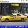 Pantalla Dobule 960*320 lateral milímetro de los primeros HD Advertisng del taxi de Chile LED