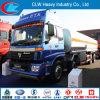 A parte superior presta serviços de manutenção a caminhões de petroleiro do combustível de 8*4 Foton Auman