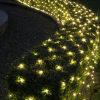Fabricación directa LED blanco cálido luces netas para Lawn
