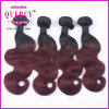 Selling quente Omber Color Body Wave Human Hair Extension para Women europeu, Long Human Hair