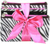 Популярное Travel Toiletry Cosmetic Bag Sets с Bow