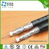 Cable de arriba coaxial eléctrico de la alta calidad