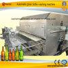 Автоматическое машинное оборудование Delablling стеклянной бутылки моя Drying