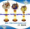 De Bollen van de Halfedelsteen van de Verlichting van Yaye/de Bol van de Wereld met de Grootte van de Bol: 450mm/550mm/650mm