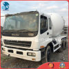 6~8cbm/10~20ton 10PE1元エンジン6*4-LHD-Driveは使用されたIsuzuの具体的なミキサーのトラックを白新し塗り直す