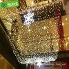 La luz neta decoración de la boda de Navidad de colores de luz LED de cortina